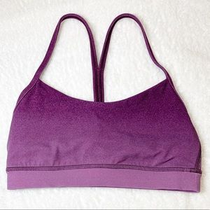 Lululemon Flow Y Bra Nulu Light Support